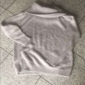 Sweaters - Gray cowl neck sweater, size S